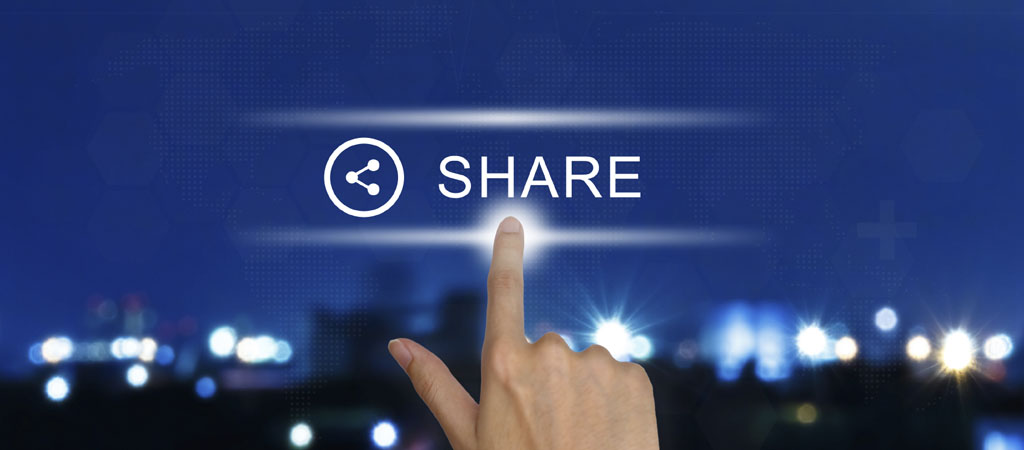 image: push a button and share knowledge