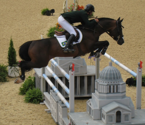 Show jumping at the London Olympics 2012