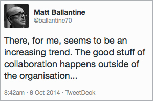 Twitter chat with Matt Ballantine