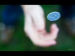 Flip a coin by Rob