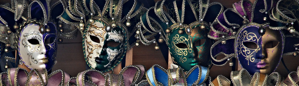 Carnival masks for sale