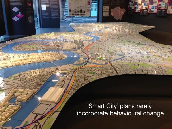 image: SmartLondon exhibit (author's own photo)